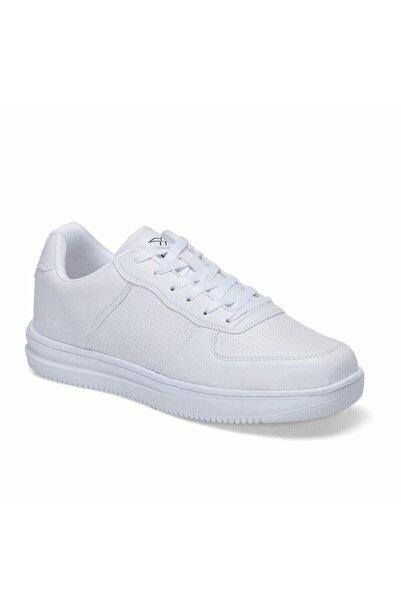 Kinetix Unisex Beyaz Sneaker Günlük Yürüyüş Spor Ayakkabı