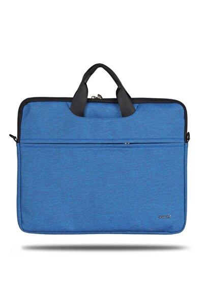 """ÇÇS Mavi Su Geçirmez 17"""" Laptop ve Evrak Çantası 71363"""