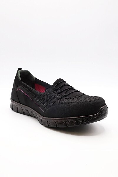 Forelli Kadın Siyah Spor Ayakkabı 61014-g