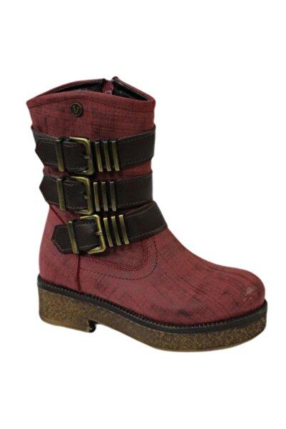 Vicco 954.v.326 Bordo Çocuk (26-36) Kışlık Ayakkabı Bot