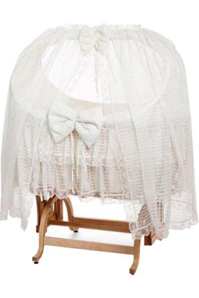 Tahterevalli Kemik Beyaz Royal Sepet Beşik
