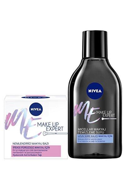 Nivea Nıvea Pürüzsüzleştirici Makyaj Bazı + Make Up Expert Makyaj Temizleme Suyu 400 ml
