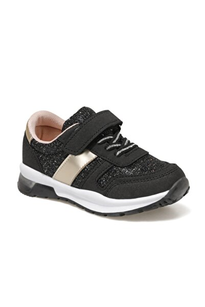 SEVENTEEN PIRILTI 1FX Siyah Kız Çocuk Spor Ayakkabı 100787519