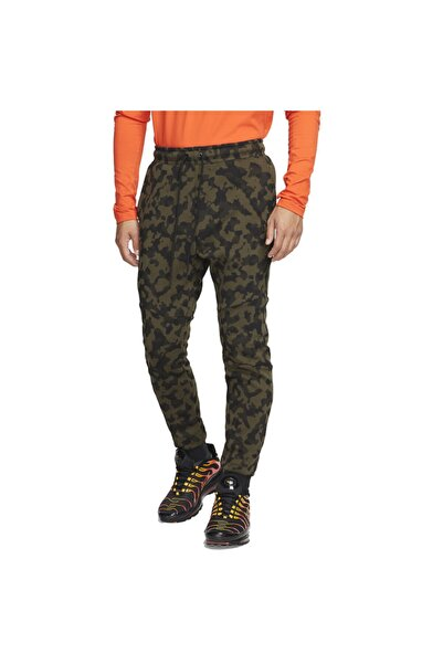 Nike Erkek Eşofman Altı Sportswear Tech Fleece Printed Joggers  Cj5981-222