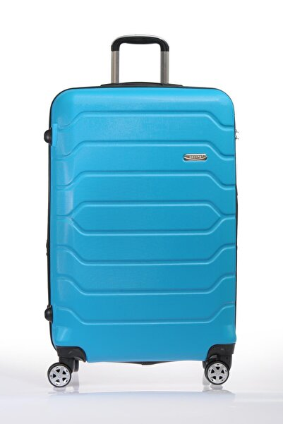 ESCAPE Escabs050-l Turkuaz Unısex Büyük Boy Bavul