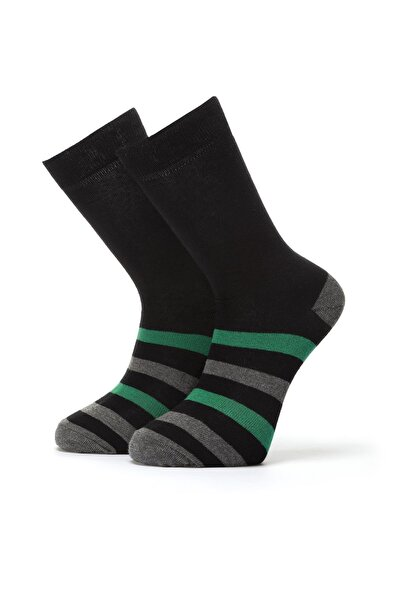 ORBİS 3'lü Erkek Çember Desenli Çorap 4460-a3