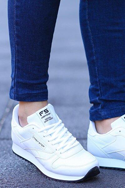 FAST STEP Beyaz Kadın Sneaker Ayakkabı 865za5010