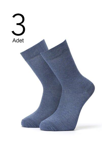ORBİS 3'lü Erkek Düz Çorap 4450-a3