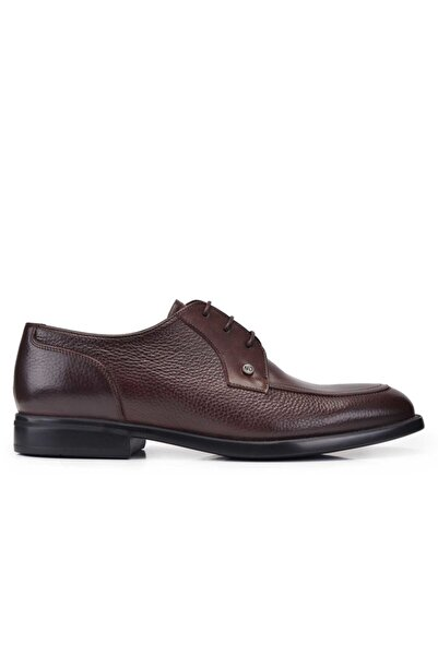 Nevzat Onay Hakiki Deri Kahverengi Günlük Loafer Erkek Ayakkabı -11372-
