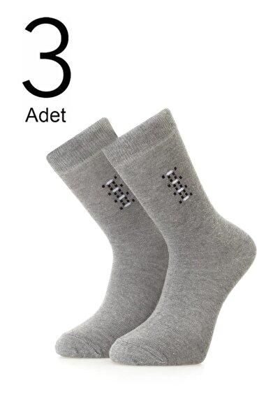 ORBİS 3'lü Erkek Soket Desenli Çorap 4471-a3