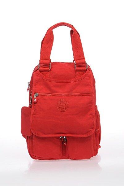 SMART BAGS Smb1174-0019 Kırmızı Kadın Sırt Çantası