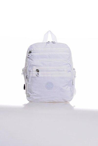 SMART BAGS Smb1207-0002 Beyaz Kadın Sırt Çantası
