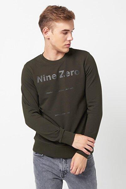 Jack & Jones Jack Jones Baskılı Sweatshirt 12161759