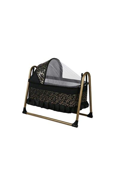 Tommybaby Gold Star Lüx Sepet Beşik Portatif Sallanır Bebek Beşiği