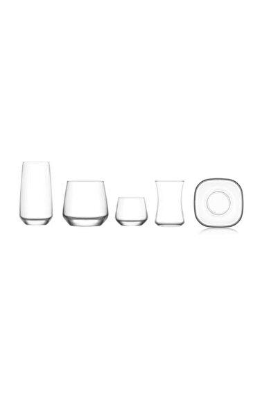 LAV Çeyiz Seti 30 Prç. Su Bardak - Meşrubat Bardağı Takımı Seti