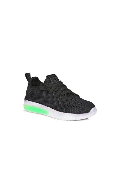 Vicco X Unisex Çocuk Siyah Spor Ayakkabı