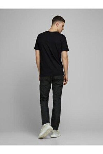 Jack Jones Erkek Baskılı T Shirt 12172215