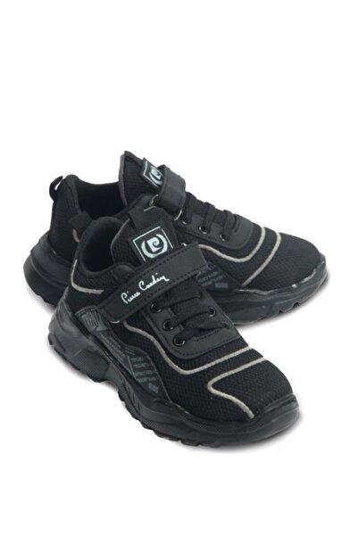Pierre Cardin Unisex Çocuk Siyah Spor Ayakkabı