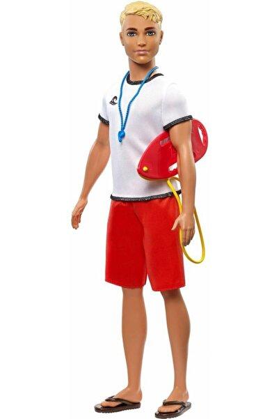 Barbie Ken Kariyer Bebekleri  Cankurtaran Fxp04