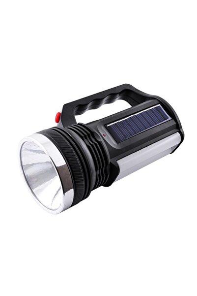 yopigo 2836 T Güneş Enerjili Şarjlı Aydınlatma Cihazı 1w+16 Led Çift Yönlü El Feneri