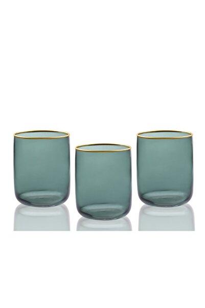 English Home Dorny Cam 3'lü Meşrubat Bardağı 270 ml Yeşil