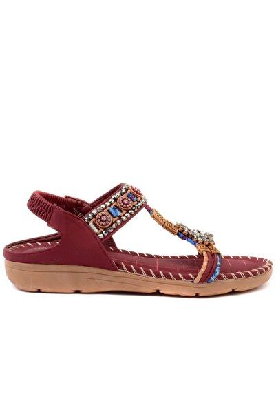 Guja - Bordo Kadın Sandalet