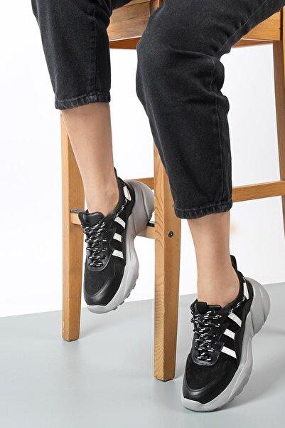 Gökhan Talay Siyah Kadın Spor Ayakkabı