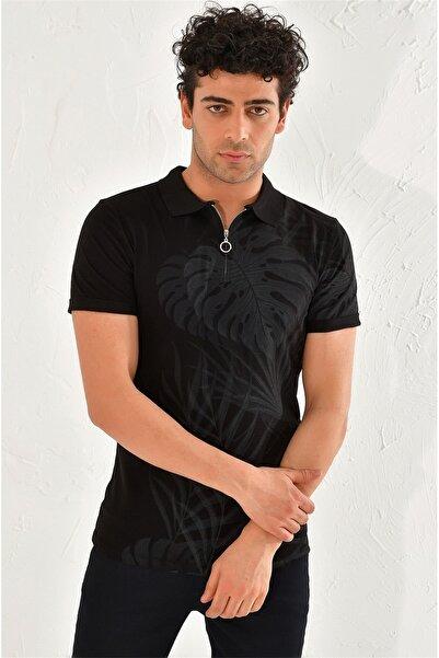 Efor Ts 762 Slim Fit Siyah Spor T-shirt