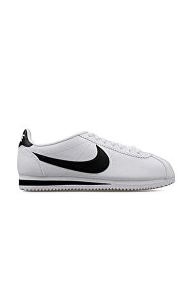 Classic Cortez Leather Kadın Beyaz Spor Ayakkabı 807471-101