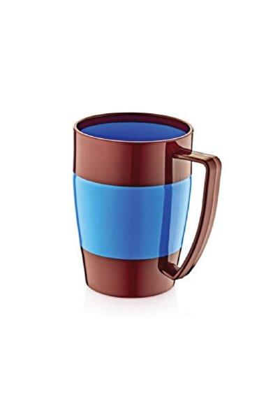 IRAK PLASTİK Plastart Saplı Su Bardağı Bordo Mavi Su275