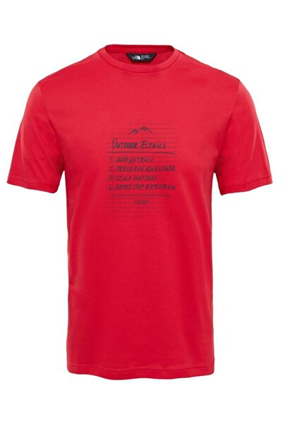 THE NORTH FACE M Tansa Tee Erkek T-shirt Kırmızı T92s7z682