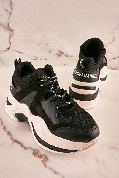 Bambi Siyah/siy.süet Sneaker K0639175822