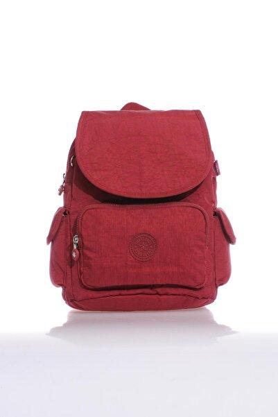 SMART BAGS Smb1084-0021 Bordo Kadın Sırt Çantası