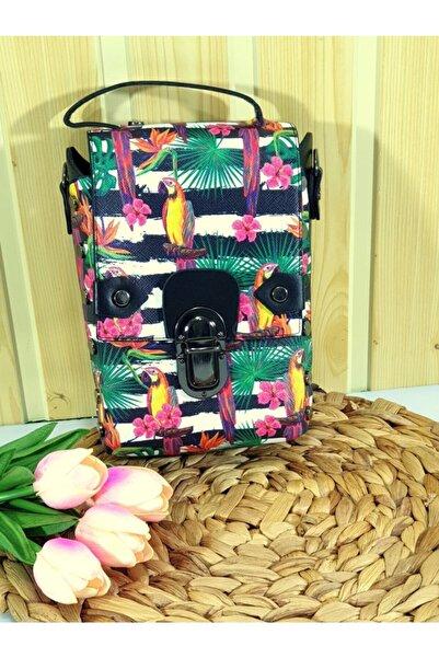 TREND Zara Kadın Kol Çanta Çoklu Figür Desen