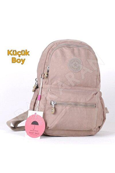 SMART BAGS Küçük Boy Kadın Sırt Çantası 1030 15 Vizon