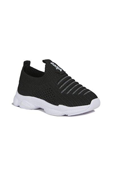 Vicco Macro Unisex Çocuk Siyah Spor Ayakkabı