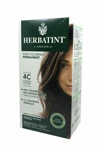 Herbatint Kalıcı Bitkisel Saç Bakım Boyası - 4c Ash Chestnut Kül Kestane 150 ml 8016744500258