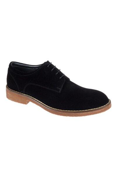 Friendly Hakiki Deri Günlük Erkek Ayakkabı Z-05 Siyah Süet
