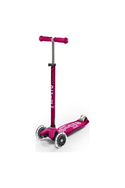 Micro Maxi Deluxe Pink Led Mcr.mmd077 Scooter