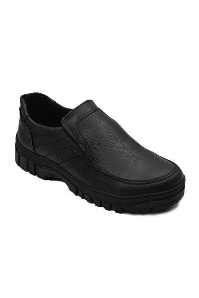 Etap M4 Kauçuk Taban Siyah Dikişli Kışlık Ayakkabı