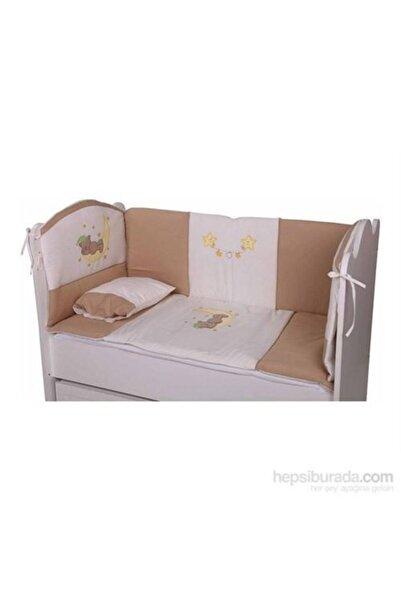 BabyHope Bebek Uyku Seti Kahve Ayüstünde Ayı 70*130
