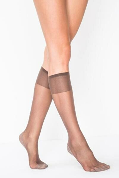 Penti Fit 15den Pantolon Çorabı Dizaltı Çorap Parlak Ince 6'lı