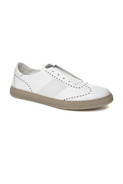 ALBERTO GUARDIANI Beyaz Erkek Sneaker Su76473b/---/ax10-- Man Tudor Whıte