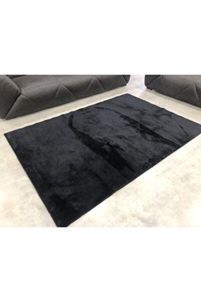 Dinarsu Peluş Loft Siyah Halı