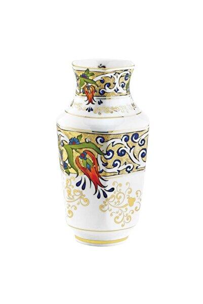 Kütahya Porselen El Dekoru 25 Cm Antik Vazo Dekor No:1353824