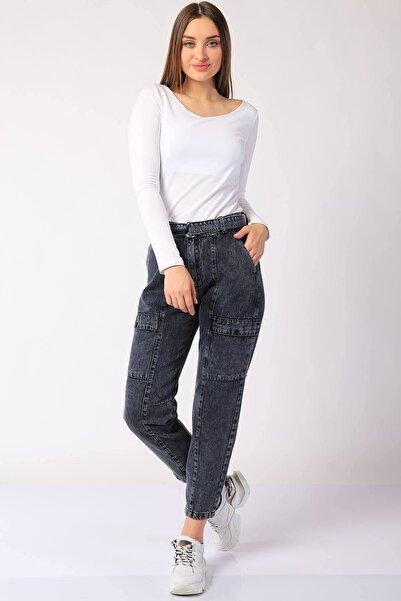 Twister Jeans Kadın Pantolon Bp 9378-02 Sıyah