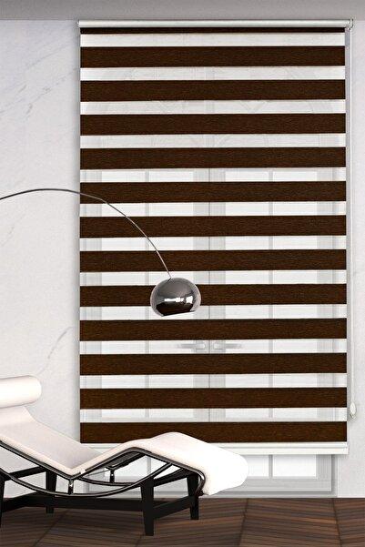 Rengin Home Kahve Rengi Bambu Zebra Perde