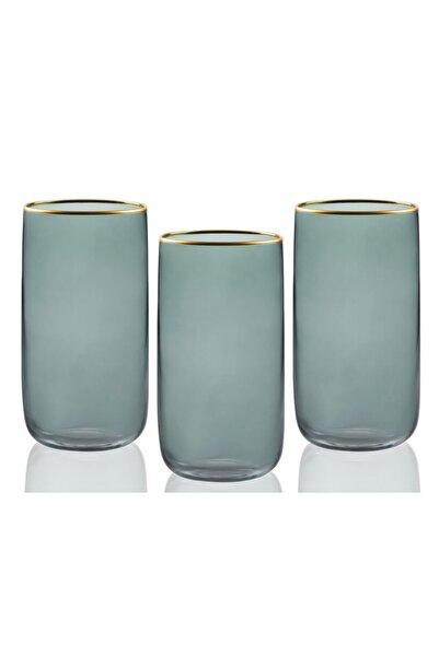English Home Mason Cam 3'lü Meşrubat Bardağı 365 ml Yeşil