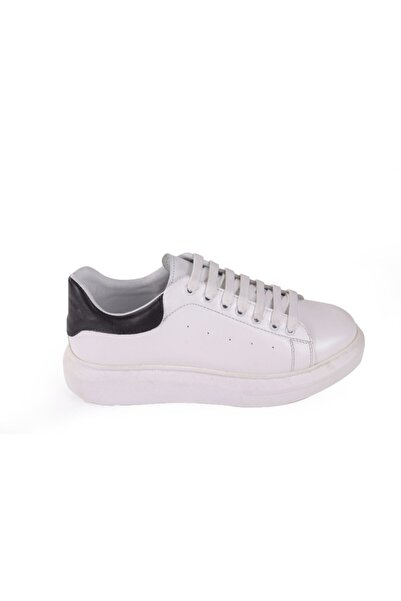 Hobby Beyaz Deri Casual Erkek Ayakkabı As01