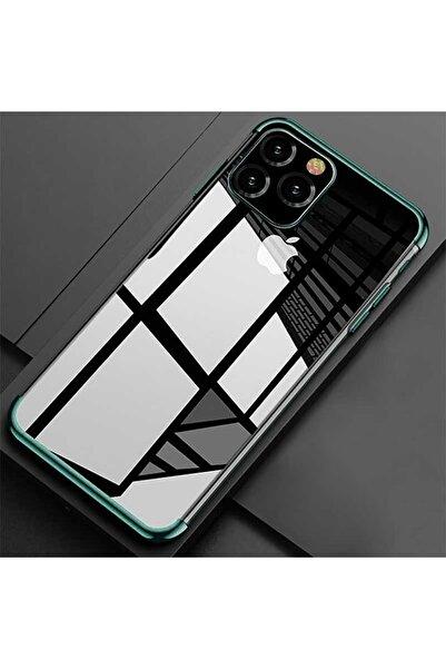 zore Apple Iphone 11 Pro Kılıf Şeffaf Esnek Silikon Lazer Boyalı